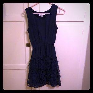 Beautiful navy toole dress, barely worn!